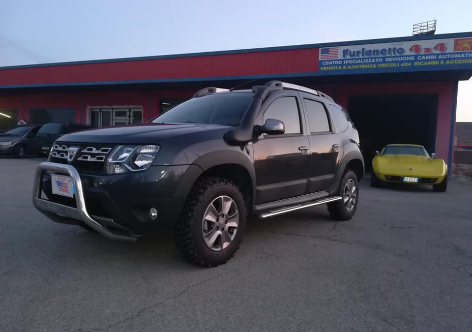 Dacia Duster – nuovo look off-road