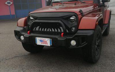 Jeep Wrangler – nuovo paraurti e portafari con barre LED